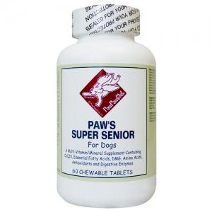 元気なシニアになるために全年齢のわんこのバランス栄養素 Paw's スーパーシニア